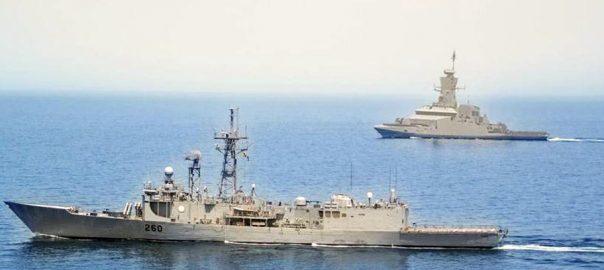 Pakistan Navy, ship, Alamgir, Port Salalah, Oman, maritime, security, patrol