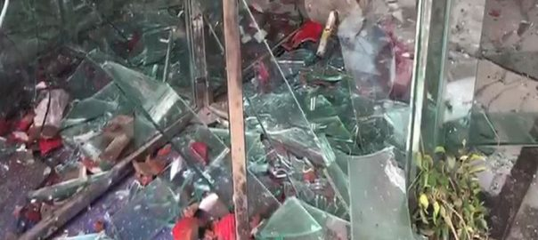 Hospital attacked after youth dies due to doctor's negligence in Sialkot
