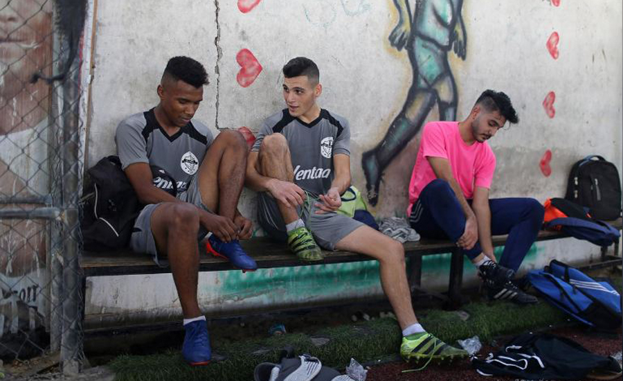 Palestinians cancel soccer final after Israel denies Gaza team travel