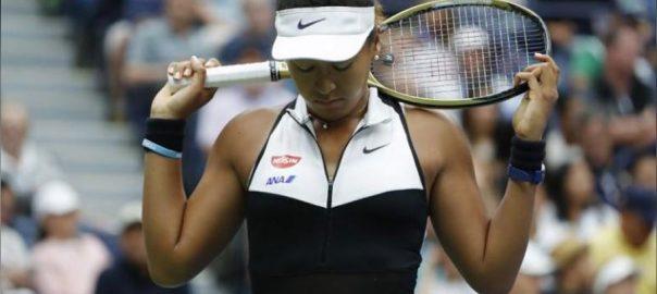 Defending, champion, Osaka, falls, Bencic, US Open
