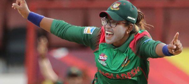 Rumana Ahmed all-rounder bangladesh tour BCCI PCB ICC Women cricket team