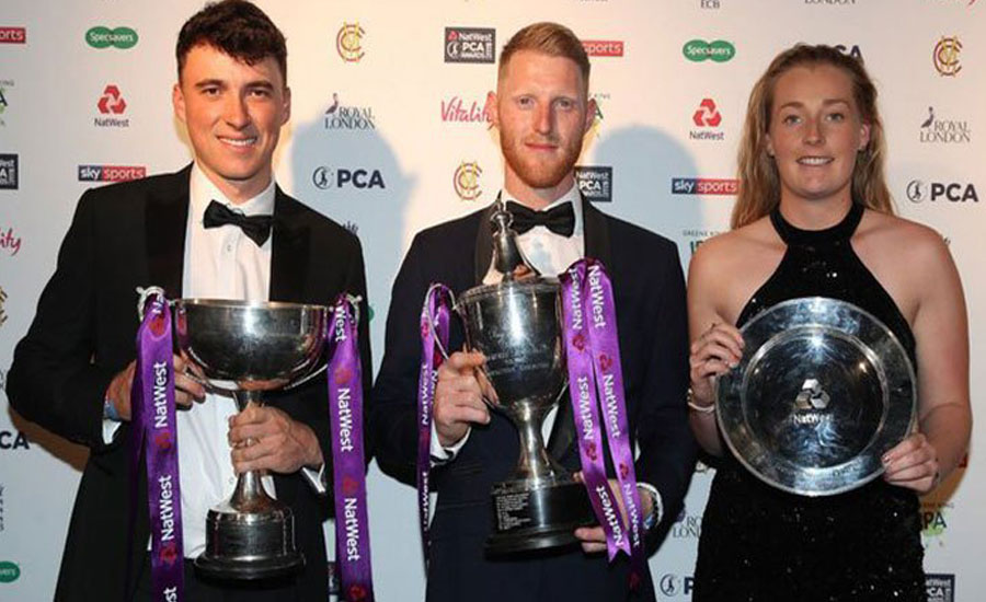 World Cup, Ashes hero Ben Stokes named PCA Players' Player of the Year