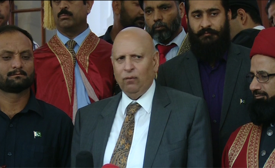 All political parties have rejected Maulana's sit-in, says Ch Sarwar