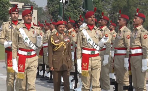 Oman Armed Forces Chief, Lt Gen Ahmed Bin Harith, COAS Bajwa