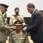 Lt Gen Azhar Abbas, installed, Colonel Commandant, Baloch Regiment