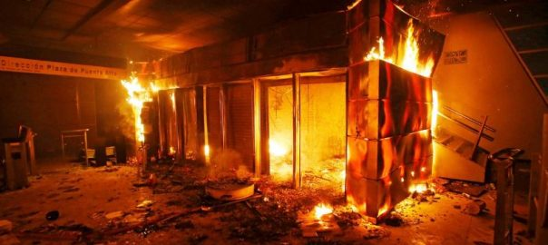 Chile President, Pinera, declares, emergency, capital, rocked, riots