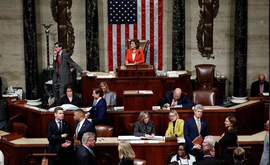 Trump impeachment effort passes first test of support in US Congress