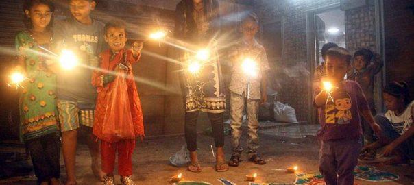 Diwali happy diwali Imrna khan PM imran khan minister for human rights shireen mizari