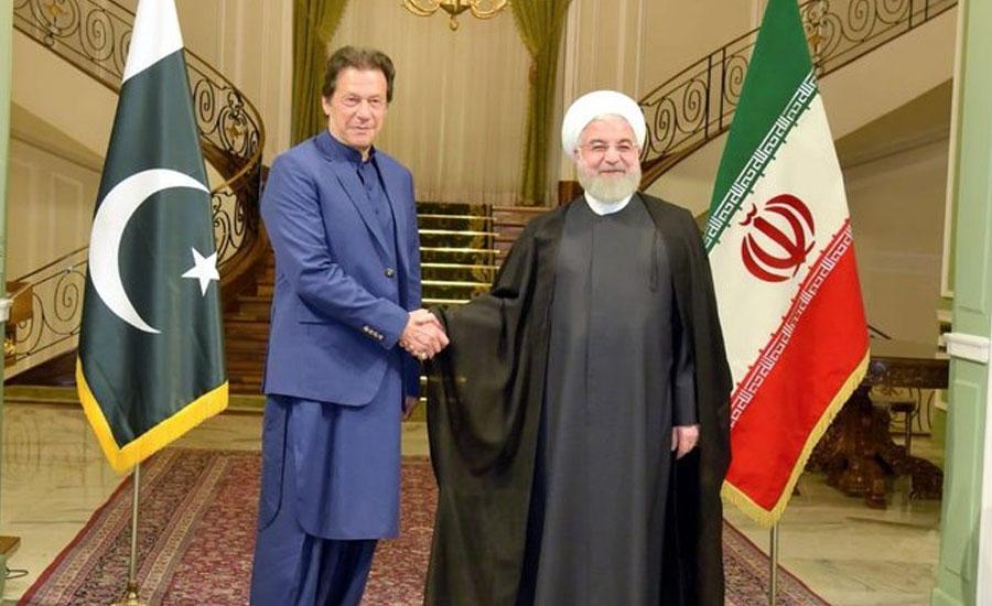 Iranian president PM imrankhan Imran Khan Prime mInister Iran Visit Hassan Rouhani