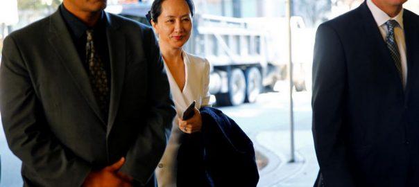 Lawyers Huawei CFO Meng Wanzhou emails