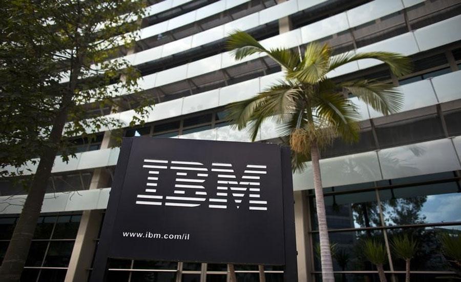IBM 3rd quarter revenue falls, shares down 3%