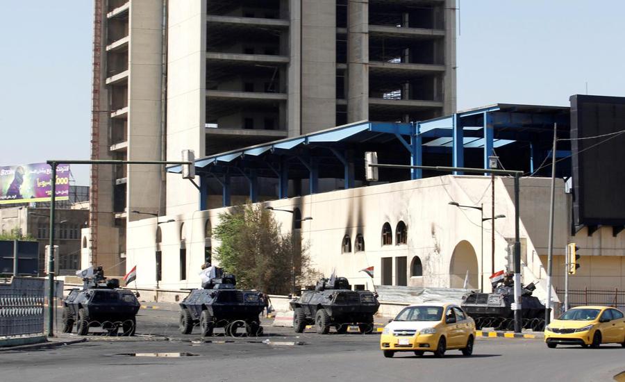 Iraqi, authorities, lift, Baghdad, curfew, death toll, rises, 72, unrest