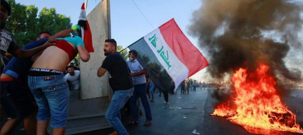 Deadly, clashes, break out, Iraq, Baghdad