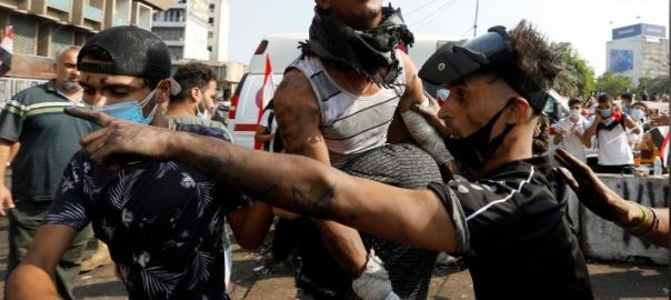 Iraqi, security, forces, open, fire, protesters, kill 14