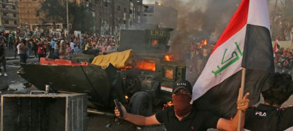 Iraq Anger boils protest bloody protest