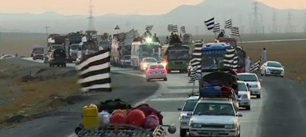 JUI-F azadi march maulana fazlur rehman Balochistan caravan Dera Ghazi Khan Multan Lahore