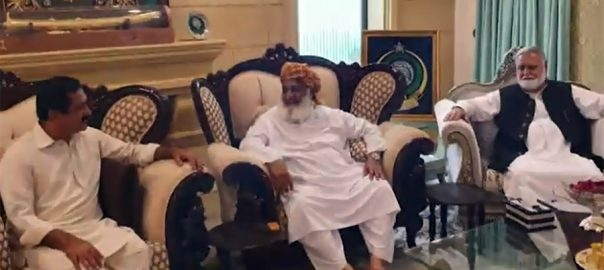 JUI-F, rules out, talks, without, government, resignation