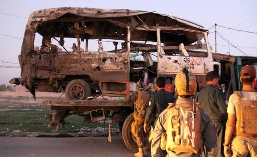 Afghanistan: At least 10 civilians including army recruits killed in suicide blast