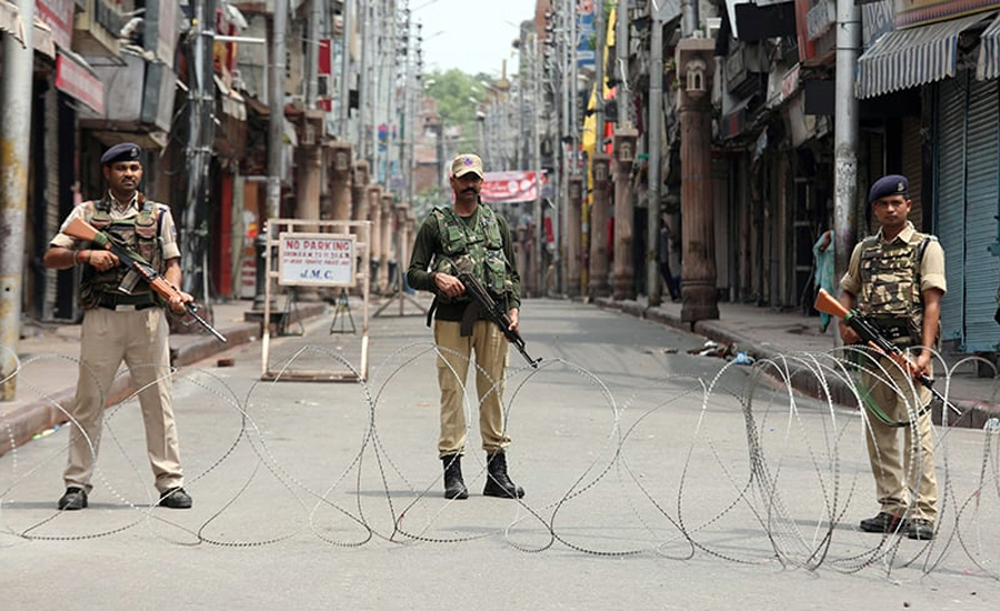 IoK Indian Occupied Kashmir Jaamu Kashmir Consecutive day Occupied Kashmir life Crippled