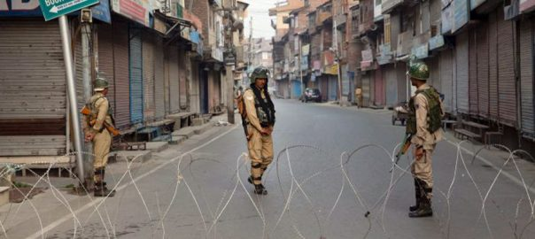 Indian troops Indian Occupied Kashmir IoK curfew 80th day communication lockdown