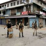 Two, Indian policemen, killed, injured, Srinagar attack