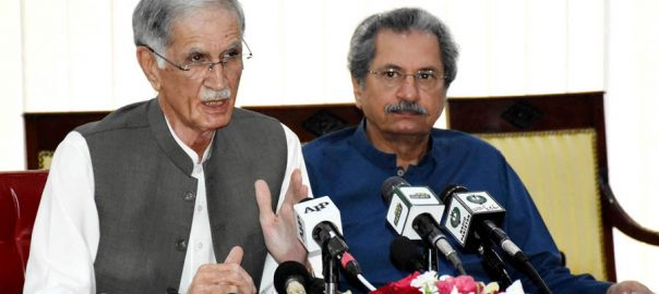 Pervaiz Khattak, terms, Azadi March, agenda, suppress, Kashmir issue