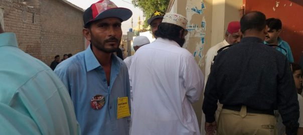 polling PS-11 Larkana by-election Moazim Ali Abbasi GDA PPP PPP chairman Bilawal Bhutto Zardari Jamil Somro