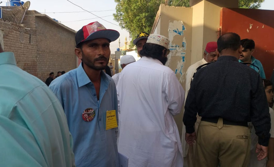 Polling for by-election on PS-11 Larkana-II underway
