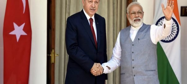 Modi Indian Prime mInister Turkey visit Modi visit Erdogan speech in UNGA FATF Kashmir stance Indian occupied Kashmir