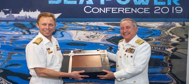 naval chief Admiral zafar abbas administered pakistan navy Australia Sea Power Conference 2019 in Australia