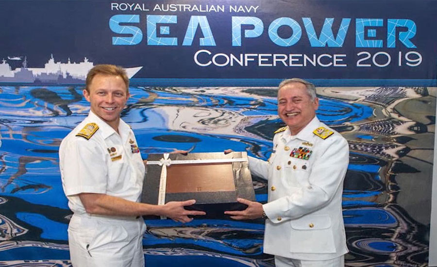 Naval chief highlights Pakistan's role in global maritime security