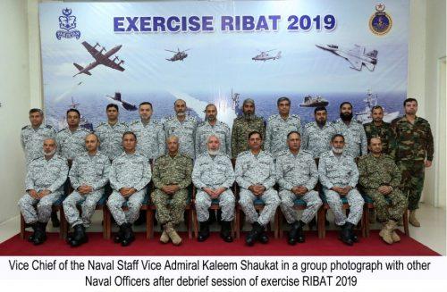 Debrief, Pakistan Navy, operational, exercise, RIBAT-2019, held
