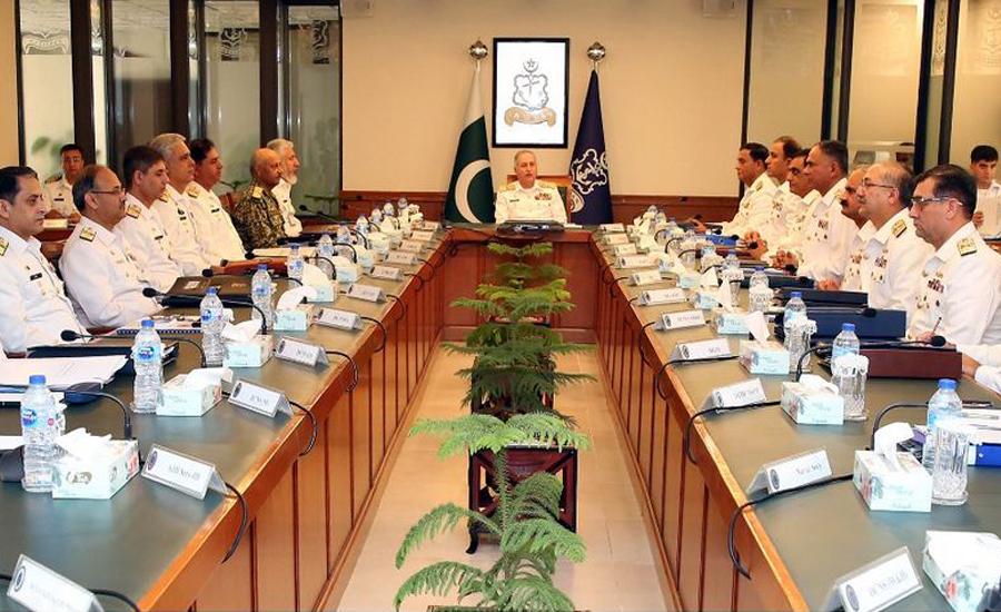 CNS Zafar Abbasi expresses full confidence over Pak Navy's operational preparedness