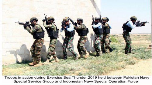 Pak Navy, Indonesian Navy, bilateral, Exercise, Sea Thunder-IV