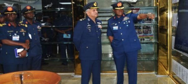 Nigerian air chief Pakistan Air Force PAF history of PAF