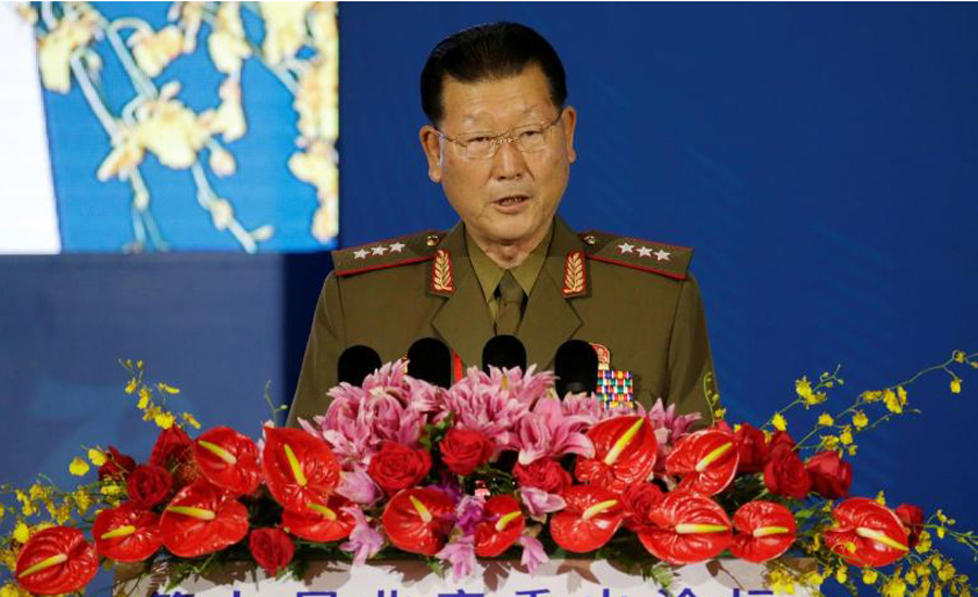 North Korea says US, South Korea must present new solutions for conflict