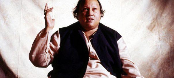 Ustad Nusrat maestro Ustad Nusrat Fateh Ali Khan Nusrat fateh ali khan birth anniversary 71th birth anniversery