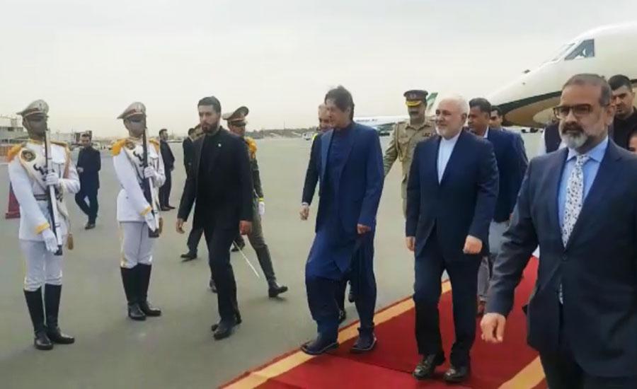 Iran Visit Iranina president mediation PM Imran Khan Shah Mehmood Qureshi visit
