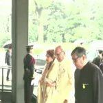 President Alvi enthronement ritual Japanese emperor