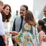 british guests lahore prince william rousing welcome Royal Couple