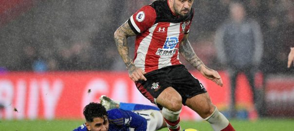 Leicester City ,English ,win ,beating ,10-man Southampton 9-0 , rain-sodden ,St Mary's
