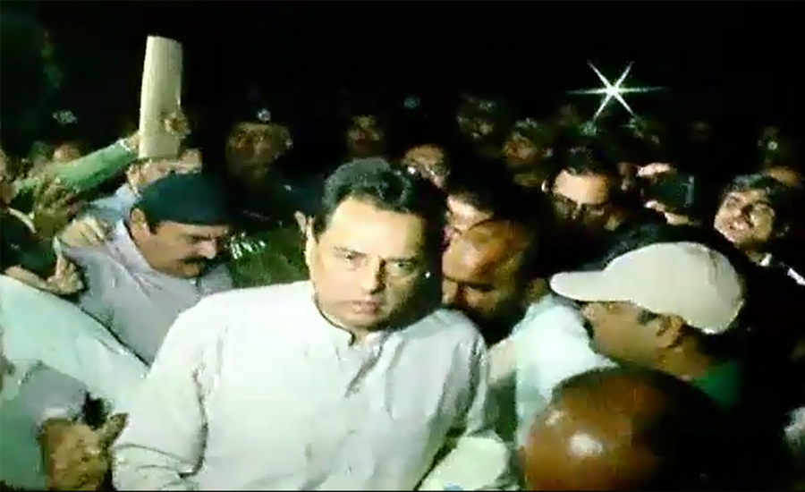 Provocative speech, Capt (retd) Safdar, jail, 14 days