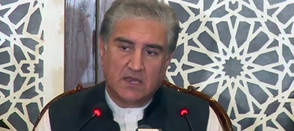 No, similarity, between, PTI's sit-in, Maualna, protest, march, FM Qureshi