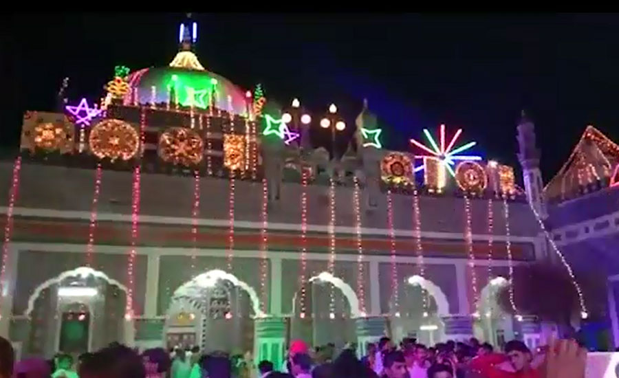 Shah Abdul Latif Bhittai Urs Bhit Shah three day celebrations