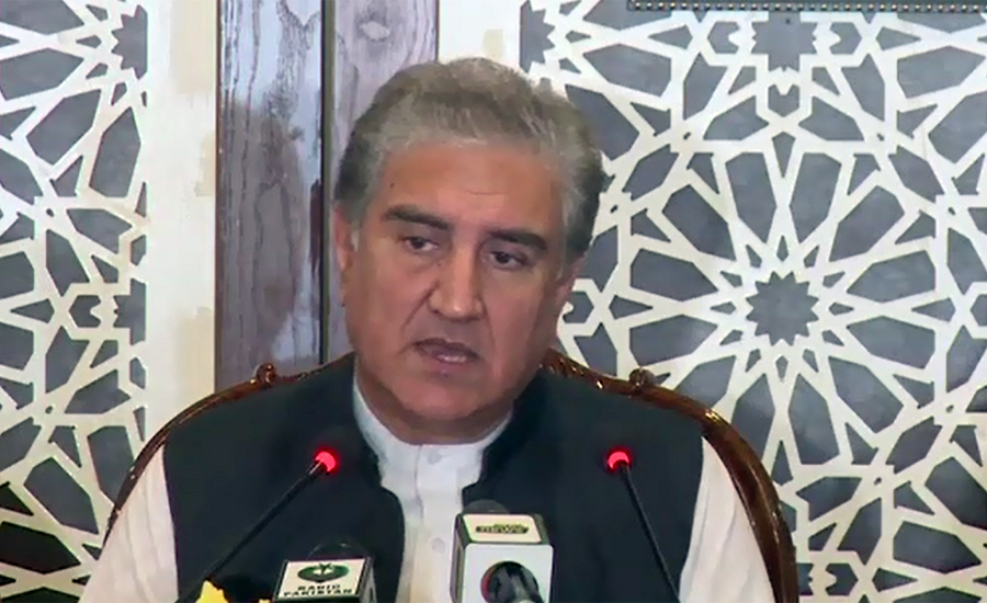 No similarity between PTI's sit-in and Maualna's protest march: FM Qureshi