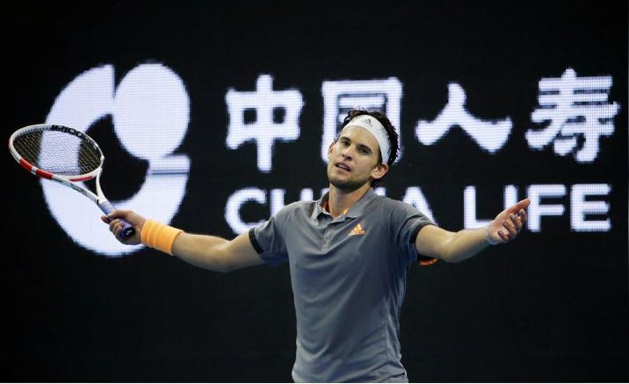 Djokovic, Thiem stroll into last-16 of Shanghai Masters