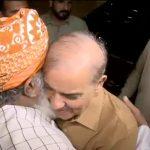 Shehbaz, maulana faz, azadi marchparty session, PML-N