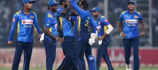 elect to bat pakistan second T20I match sri lanka win toss