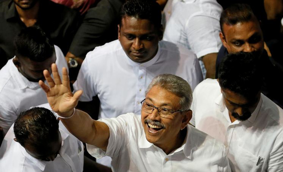Sri Lankan court dismisses case challenging presidential candidate Rajapaksa's citizenship