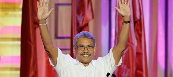 Sri Lanka, ex-defence chief, launches, presidential, campaign, pledges, safer, nation
